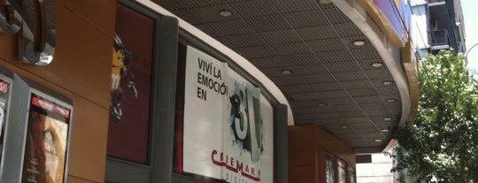 Cinemark Caballito is one of Cines a los que fuí.