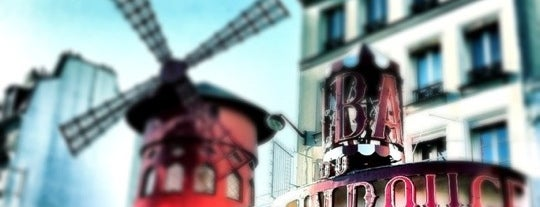 Moulin Rouge Restaurant is one of PARIS - food/shops.