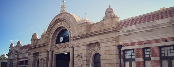 Fremantle Train Station is one of Perth 2017.