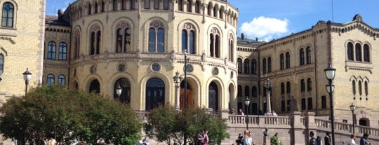 Stortinget is one of Oslo City Guide.