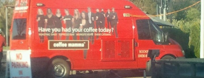 ICONIC Coffee Van is one of Syd - Melb.