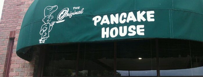 The Original Pancake House is one of Orte, die Sarah gefallen.