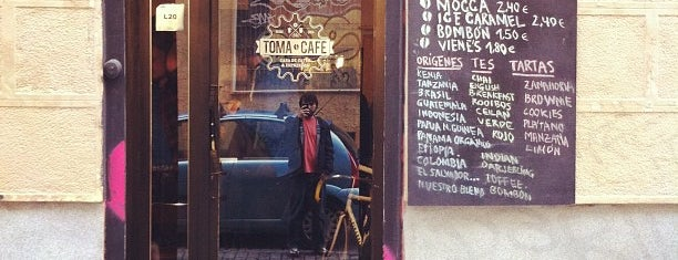 Toma Café is one of Comiendo por Malasaña.