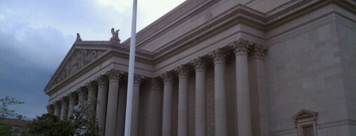 National Archives and Records Administration is one of A Not So Tourist Guide to DC.