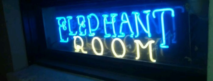 The Elephant Room is one of Austin x SXSW.