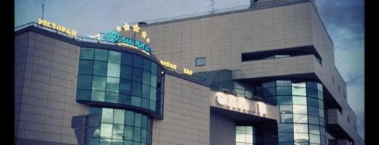 ТЦ «Олимп» is one of Orte, die Глеб gefallen.