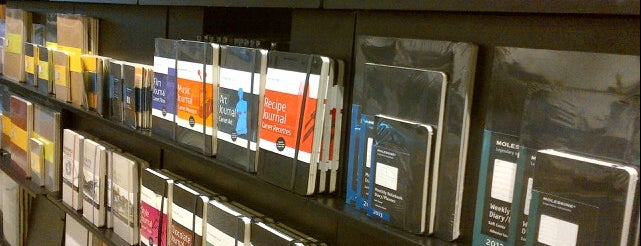 Moleskine Store is one of Italy.