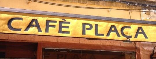Cafè Plaça is one of Top picks for Cafés.