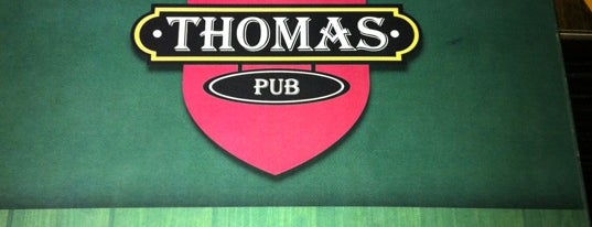 Thomas Pub is one of Desejos gastronômicos.