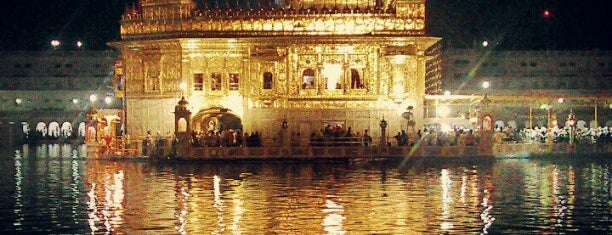 The Golden Temple (ਹਰਿਮੰਦਰ ਸਾਹਿਬ) is one of India North.