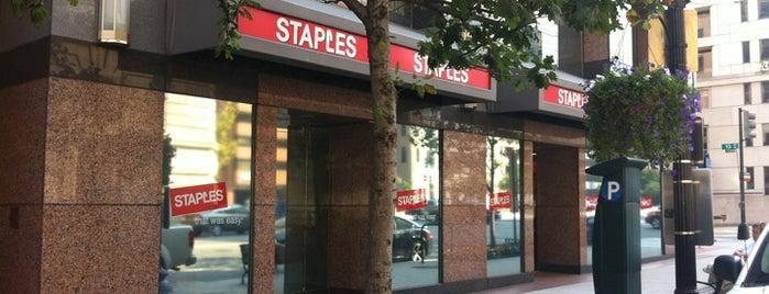 Staples is one of Tempat yang Disukai Bob.