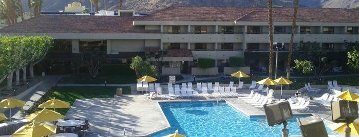 Hilton Palm Springs is one of places to go.