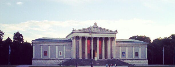 Glyptothek is one of Munich.