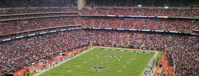 NRG Stadium is one of Stadiums Visited.