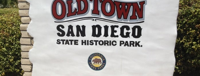 Old Town San Diego State Historic Park is one of SD.