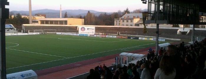 Štadión na Sihoti is one of Prvoligové futbalové štadióny.