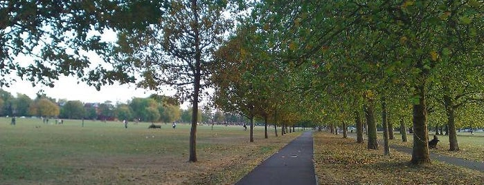 Clapham Common is one of London.