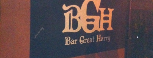 Bar Great Harry is one of Good Beer Seal bars.