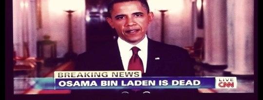 Bin Laden Death Announcent 2011 is one of สถานที่ที่บันทึกไว้ของ D.