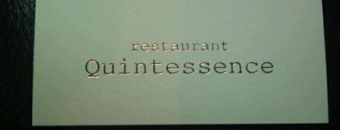 Quintessence is one of 3* Star* Restaurants*.