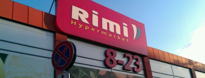 Rimi Hipermārkets [Alfa] is one of Места для посещения в Риге.