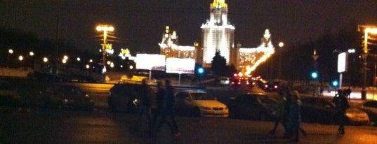 Смотровая площадка is one of Москоу.