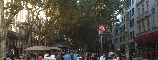 La Rambla is one of Favorite places in Barcelona.