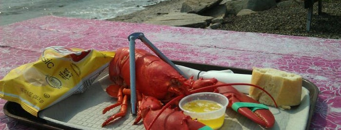 Waterman's Beach Lobster is one of Maine.