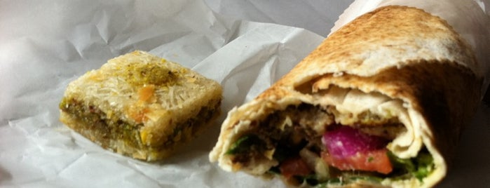 Homemade Falafel is one of Sandwiches Spots.