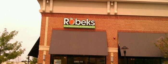 Robeks Fresh Juices & Smoothies is one of Lugares favoritos de Kellie.