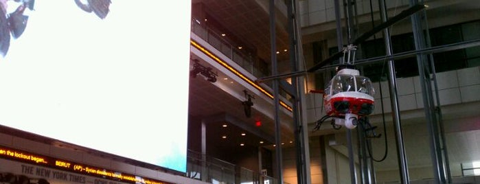 Newseum is one of A Not So Tourist Guide to DC.