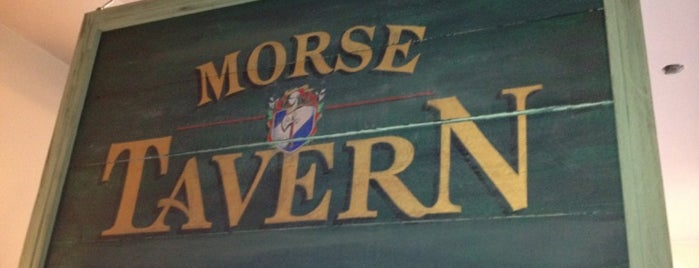 Morse Tavern is one of Awesome Metrowest.