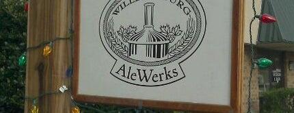 Alewerks Brewing Company is one of Breweries.