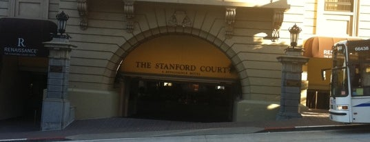 The Stanford Court San Francisco is one of Big Country's Favorite Hotels.