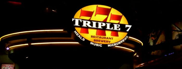 Triple 7 Restaurant & Brewery is one of The Vegas Hit List.