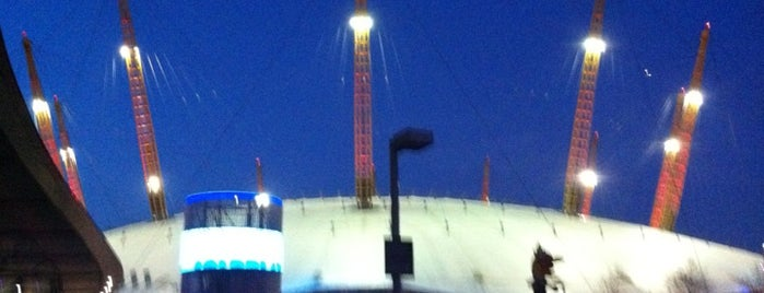 The O2 Arena is one of Stuff I want to see and redo in London.