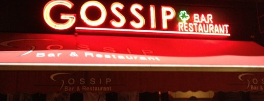 Gossip is one of The Gray Line New York Eat and Play Card.