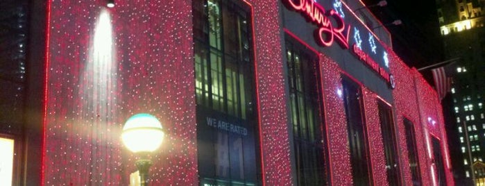 Century 21 Department Store is one of New York to do list.