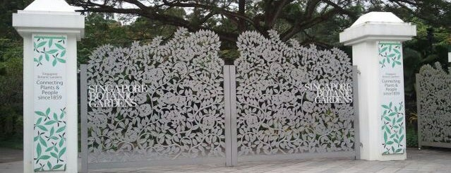 Tanglin Gate | Singapore Botanic Gardens is one of Best of Singapore.