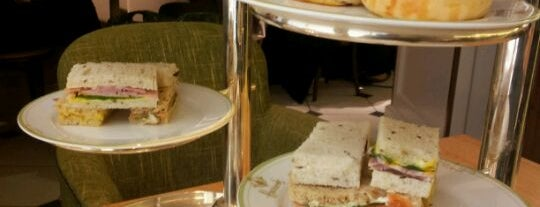 The Harrods Tea Rooms is one of London food.
