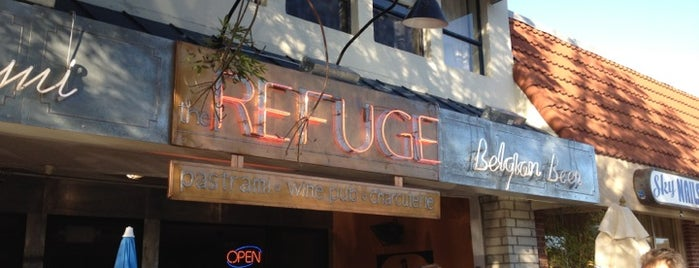 The Refuge is one of Top 100 Bay Area Bars (According to the SF Chron).