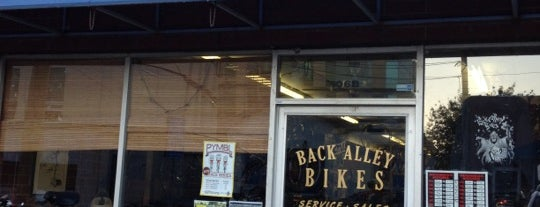 Back Alley Bikes is one of RDU Baton - Chapel Hill Favorites.
