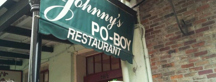 Johnny's Po-Boys is one of Gnarlins.