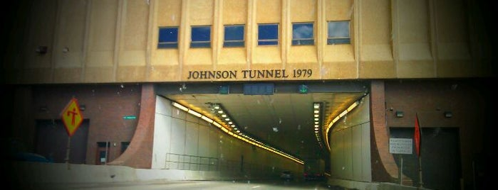 Eisenhower - Johnson Memorial Tunnel is one of I-70.