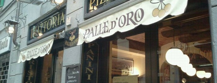 Palle D'oro is one of Tuscan food spots.