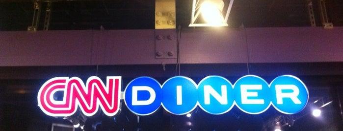 CNN Diner is one of Travis : понравившиеся места.