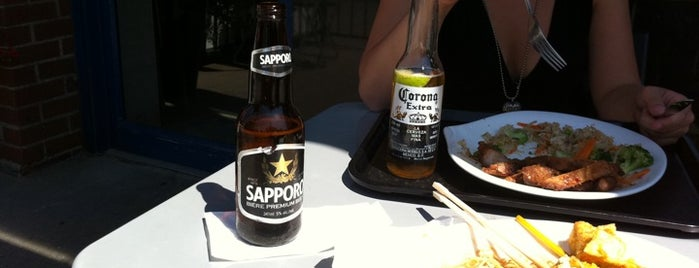 Steamy's Asian Tapas & Grill is one of 2012 Patios with Drink Deals.