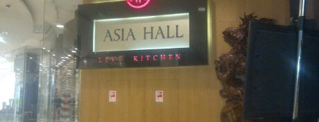 Asia Hall is one of Asian restaurants in Moscow.