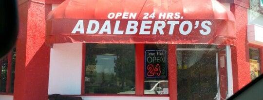 Adalberto's Mexican Food is one of list of -berto's restaurants.