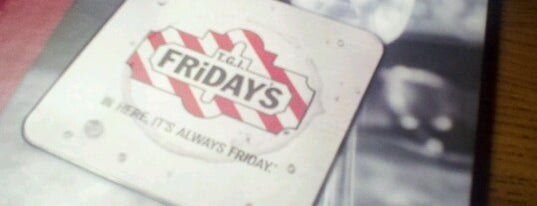 TGI Fridays is one of Lugares favoritos de Karen.